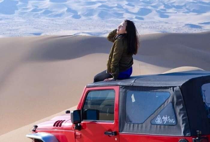 desert trip to mongolia