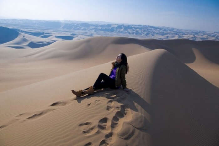 desert photography mongolia