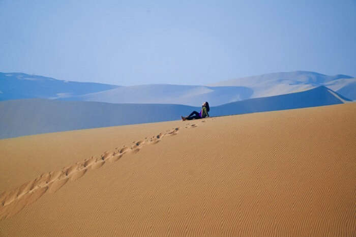 photography in tengger desert