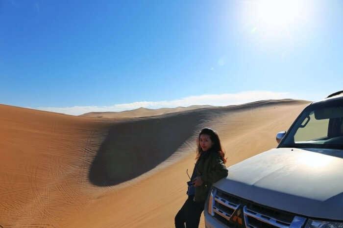 mongolia desert
