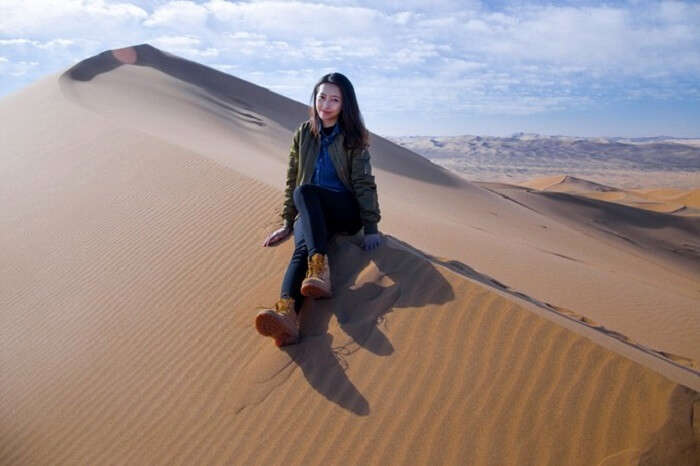 desert in alashan zouqi