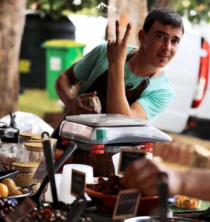 St. Pierre Market in Reunion Island, France