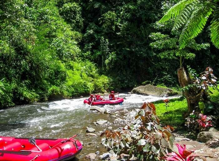 river rafting in Bali