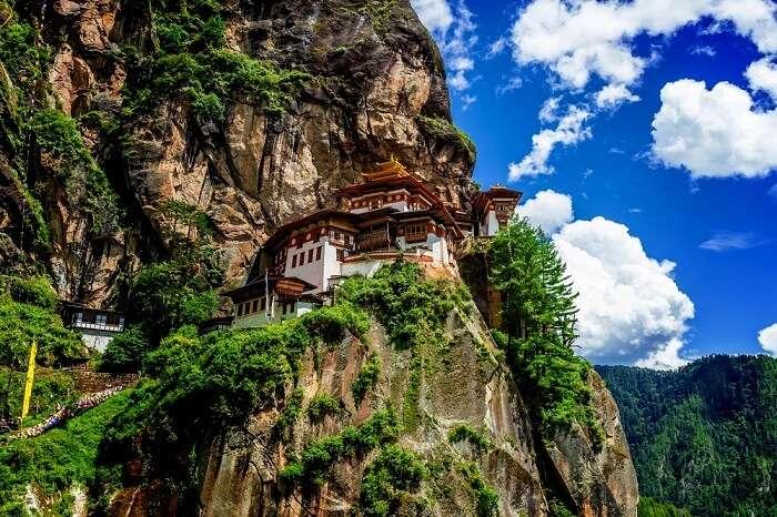 famous monastery in Bhutan