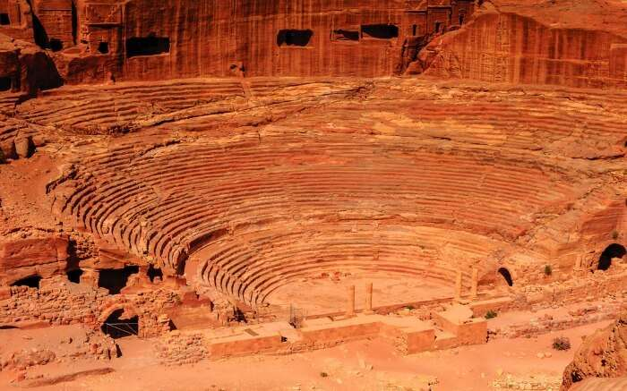 Ancient theater of Petra