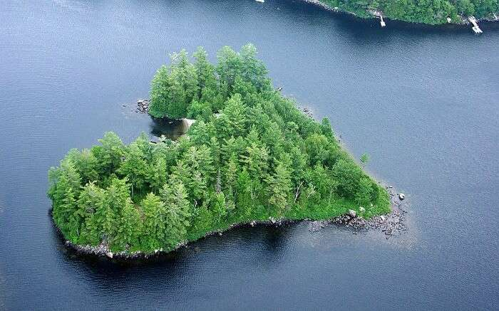 Blueberry Island in Canada