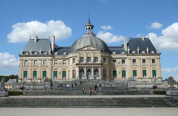 Chateaux Vaux-le-Vicomte in Maincy, France