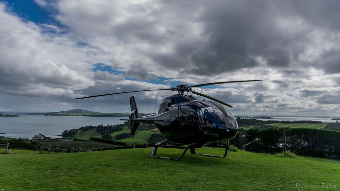 sightseeing in Waiheke island