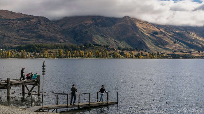 Wakatipu lake in queenstown