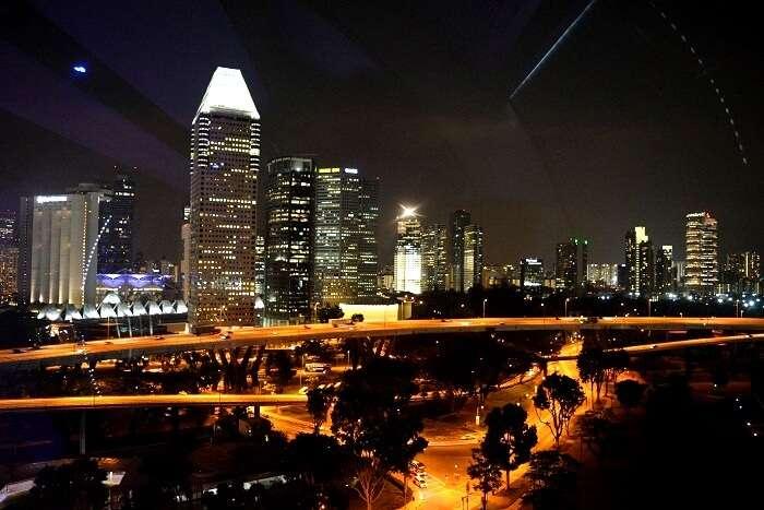 Singapore tour at night