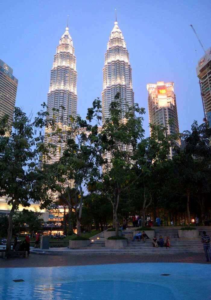 KL tower city tour in Malaysia