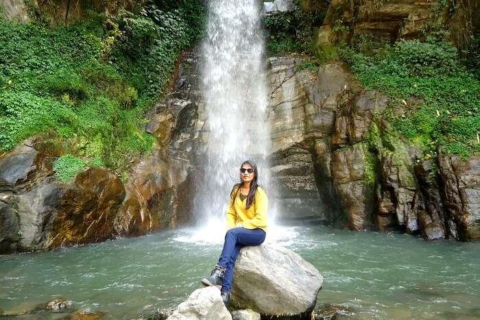Bakthang falls gangtok