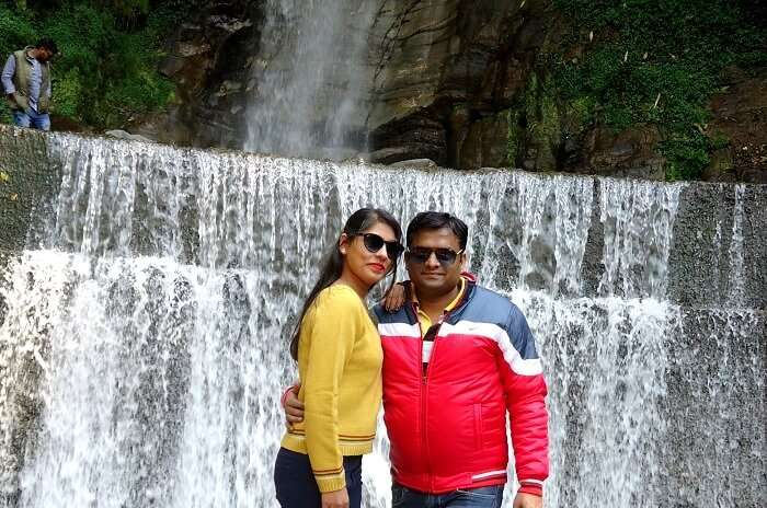 waterfalls near gangtok