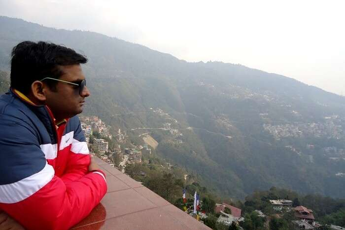 view point in sikkim