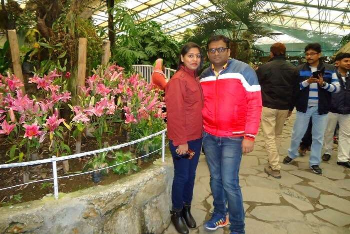 flower show in gangtok