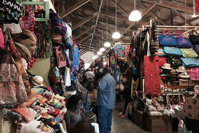 Duty-free Shopping At Nassau Straw Market