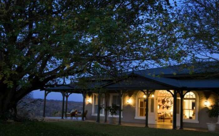 Front view of Kirkman's Kamp in Sabi Sand Game Reserve in South Africa