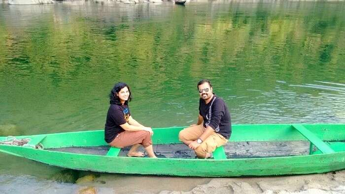 blissful boating in meghalaya
