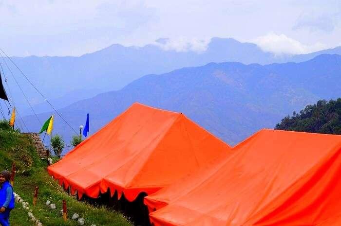 scenic dhanaulti campsite