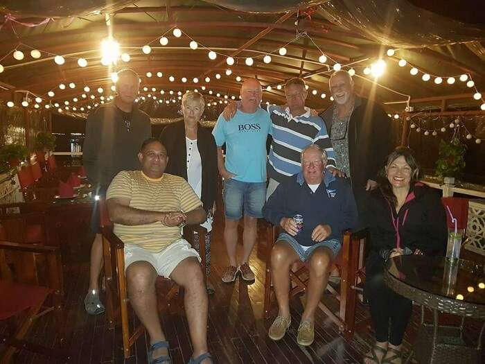 party on halong bay cruise