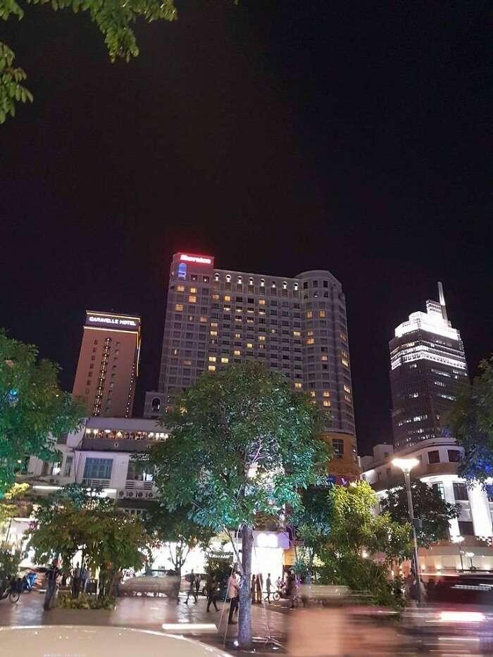 nightlife of ho chi minh city