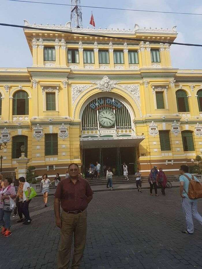 ho chi minh city post office