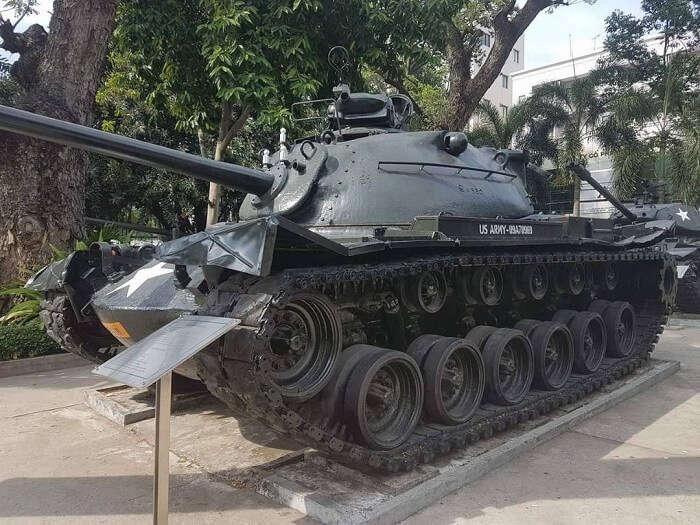 war tank in vietnam