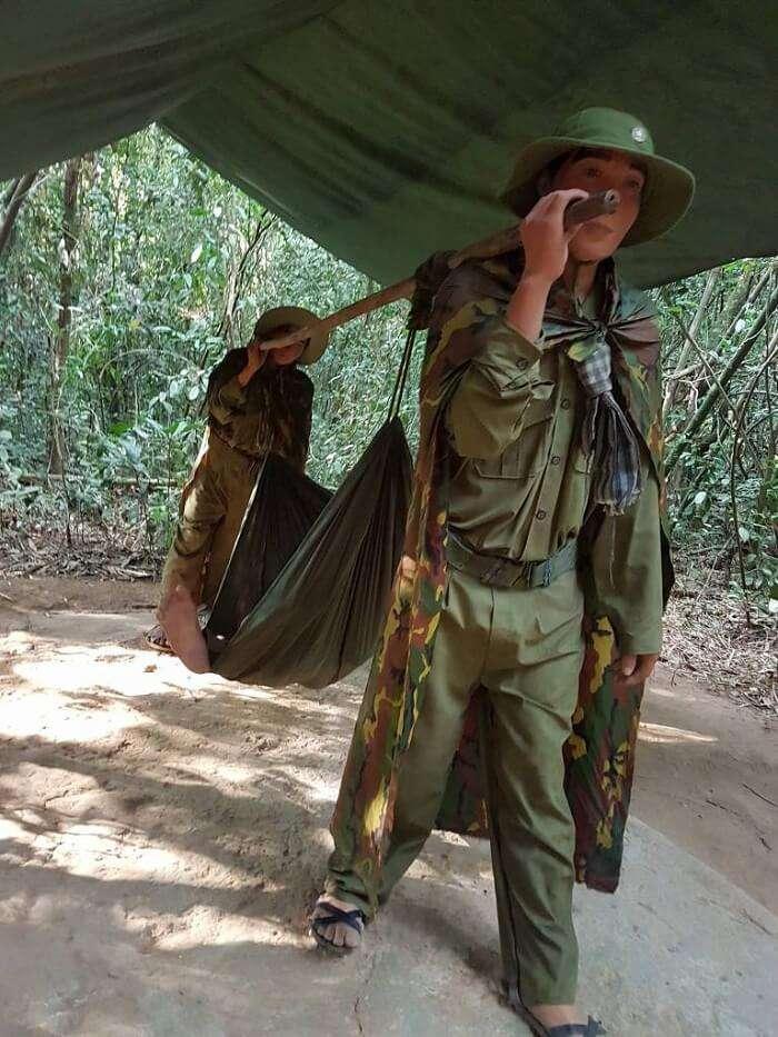 war zone in vietnam