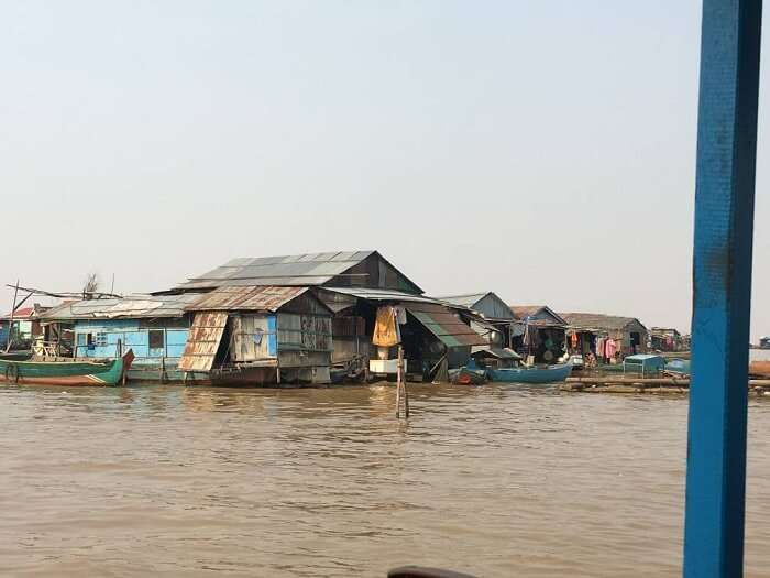 tonle sap river in cambodia