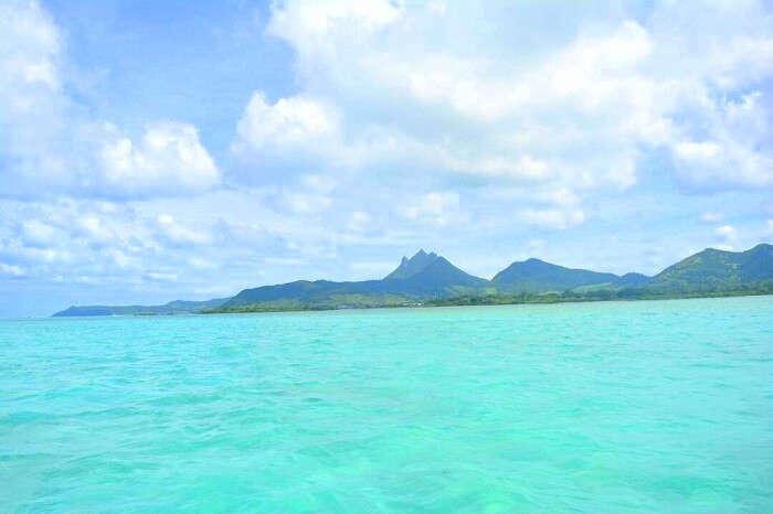 aqua blue water coast