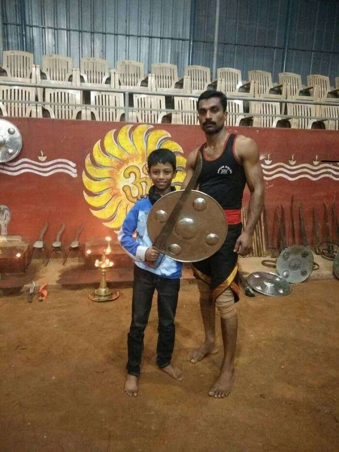 martial arts show in kerala