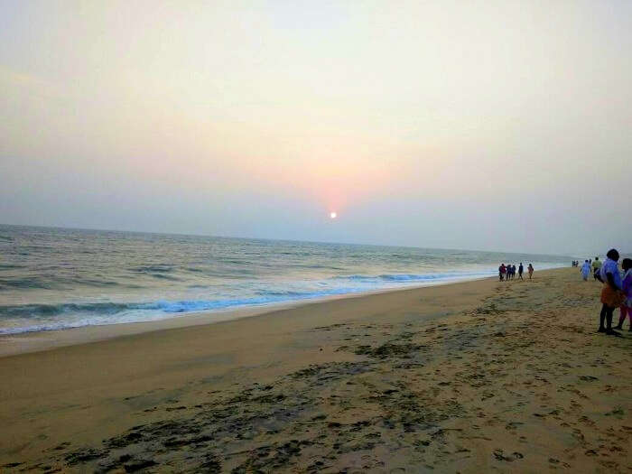 kovalam beach walks