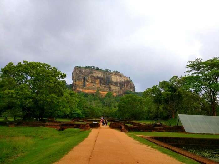 sigiriya entrance