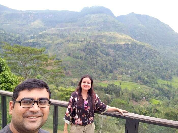 on the way to nuwara eliya
