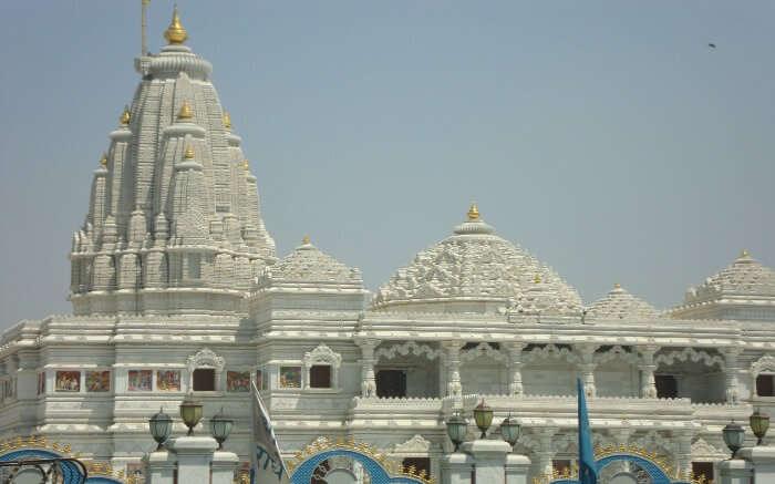 Iskon Temple in Vrindavan