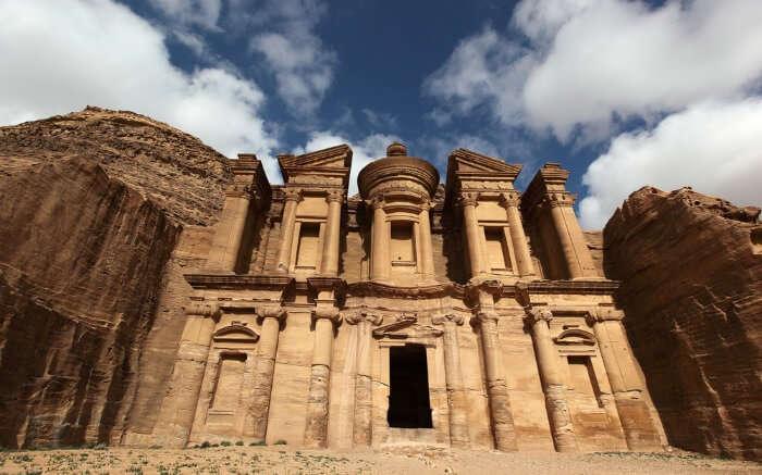 Main entrance of the Treasury