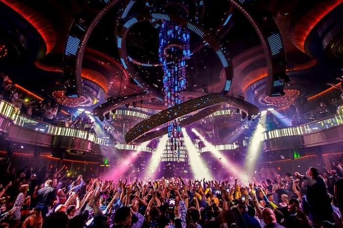 top nightclubs las vegas