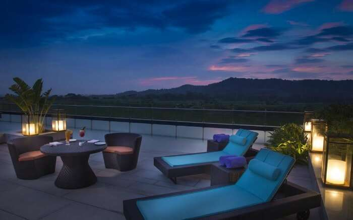 A romantic evening in Radisson Blu Guwahati