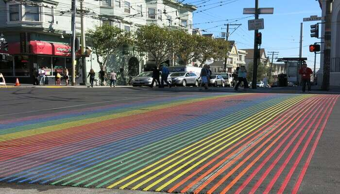 Take a stroll down Rainbow Street