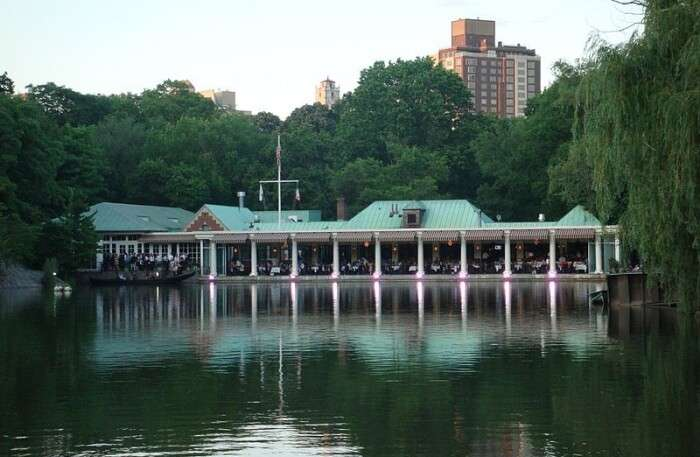 The Loeb Central Boathouse in New York, USA
