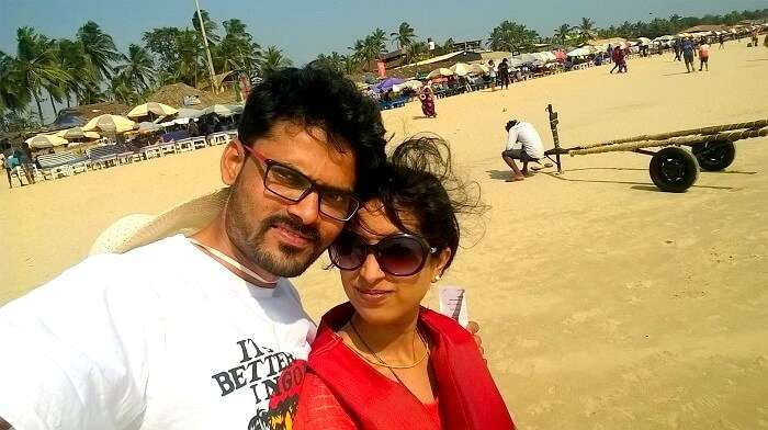 visit to calangute beach