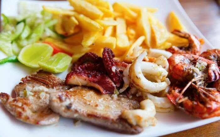 Zanzibari sea food