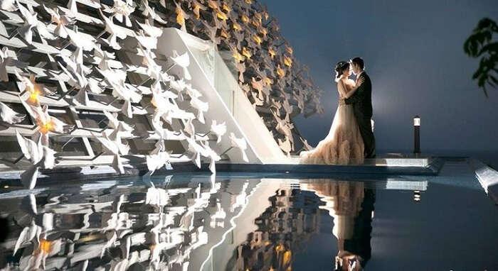 the white dove wedding bali