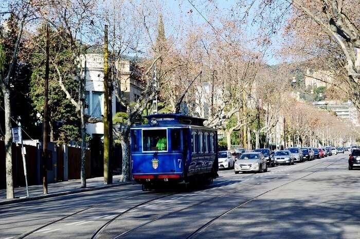 tibidabo tram ride