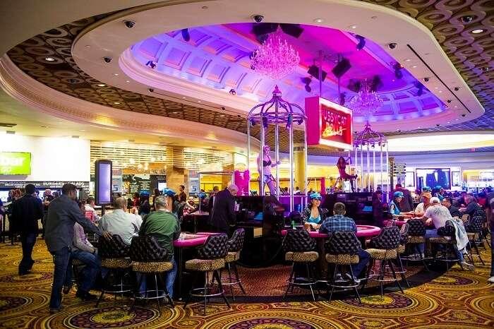 casino in caesars palace las vegas