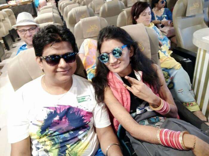 Nilesh and his wife arrive in Thailand