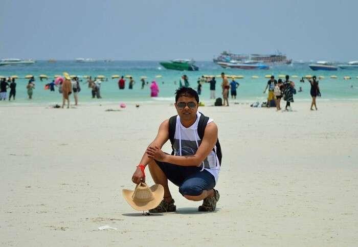 coral island beach tour