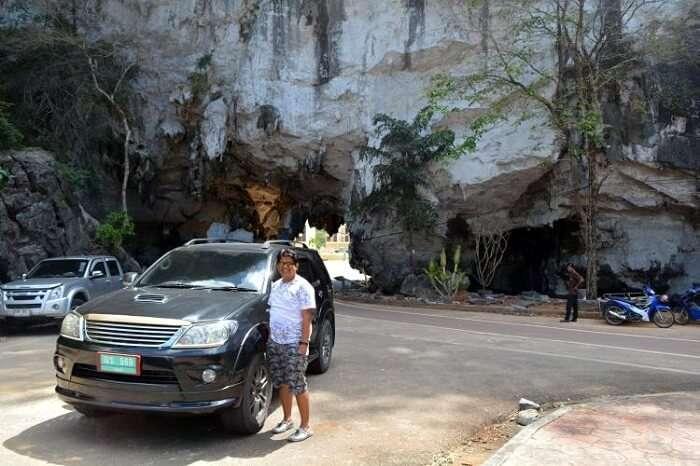 nilesh on a honeymoon in krabi