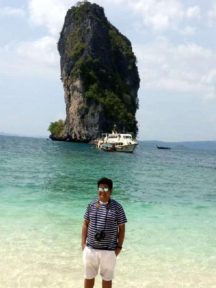 nilesh on the four island tour