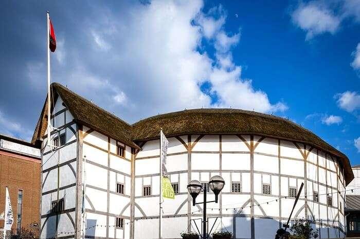 shakespeare glob theatre london
